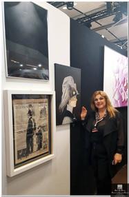 Art Shopping Carrousel du Louvre  event with Queen Art Studio Gallery  Maria Grazia Todaro (director)  Paris