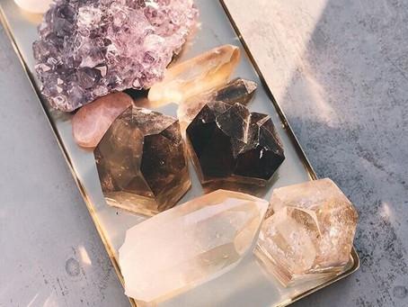 Hvordan rense dine krystaller ?