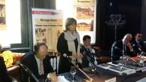 Donatella Porzi ha partecipato in rappresentanza dell'Umbria alle commemorazioni del terremoto friul