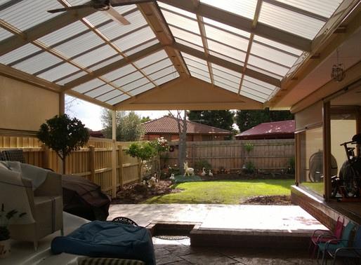Staying Cool under a Polycarbonate Roof