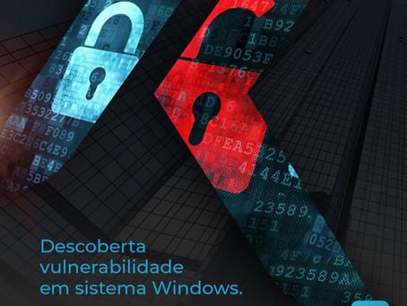 """""""Descoberta vulnerabilidade em sistema Windows que usam tecnologia de conexão remota."""""""