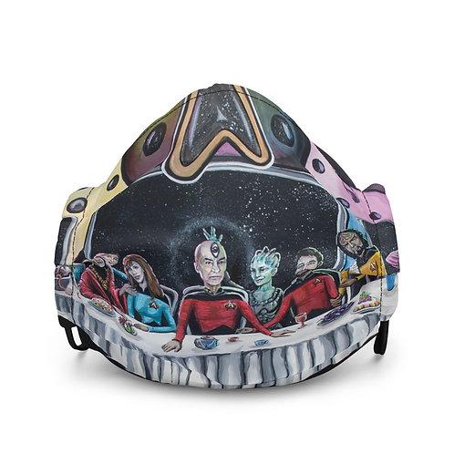 Last Supper Star Trek Cloth facemask
