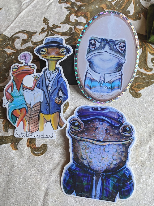 "2020 ""Cold Blooded""sticker collection"