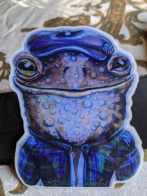 Mr Toad sticker
