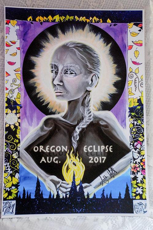 Oregon Eclipse Poster LMT