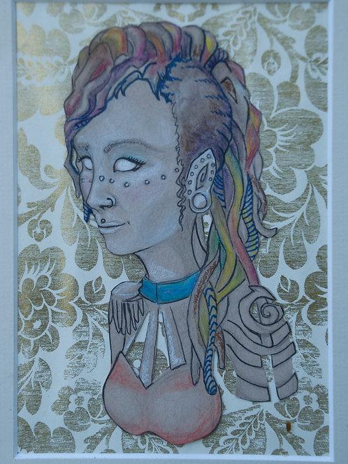 Self Portrait - Original Illustration