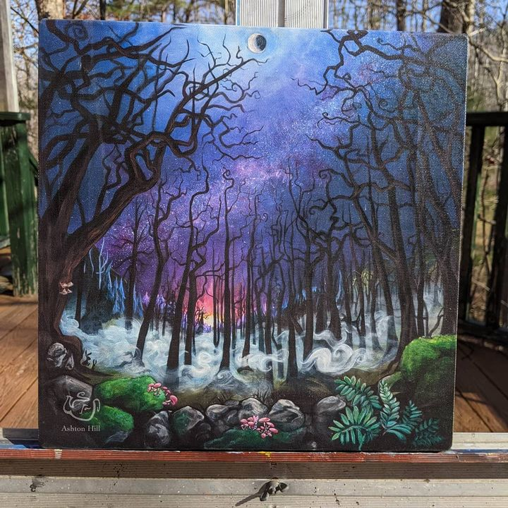 Forest For The Trees - Acrylic on Masoni