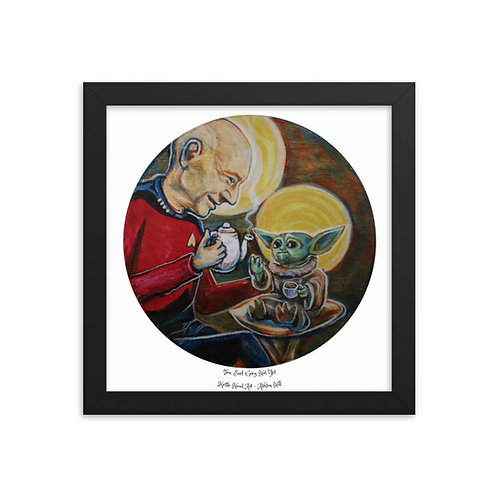 Tea, Earl Grey, Hot, Yes - Framed Print -