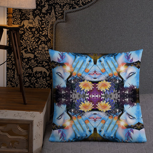 Frozen in Space All-Over Print Premium Pillow