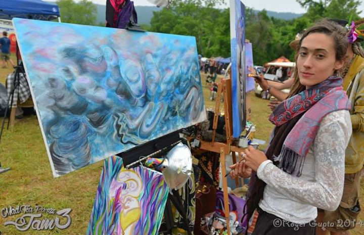 Dualism - Started at Freeform Arts, finished at The Mad Tea Party Jam