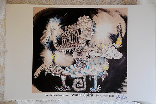Avatar Spirit - Archival Water Color print