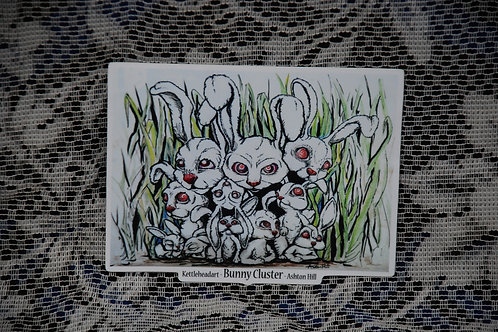 Bunny Cluster - Sticker