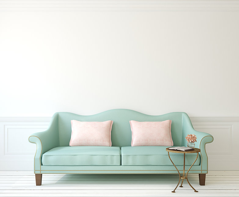 Blaues Sofa Kontakt