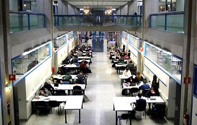 Impianti di condizionamento biblioteca universitaria di Udine