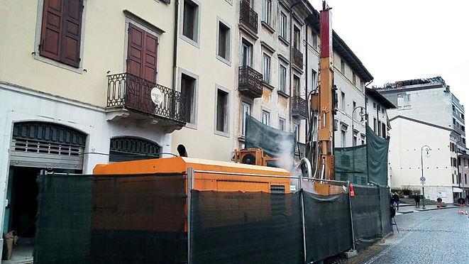 Impianto geotermico in Via Aquileia a Udine