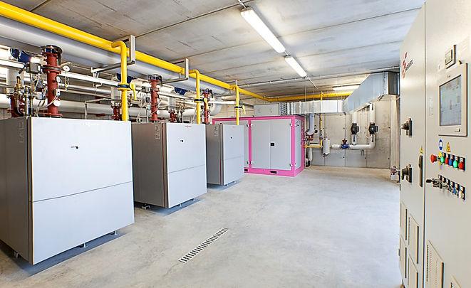 Centrale tecnologica Istituto Tomadini di Udine