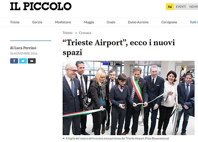Impianti tecnologici Trieste Airport