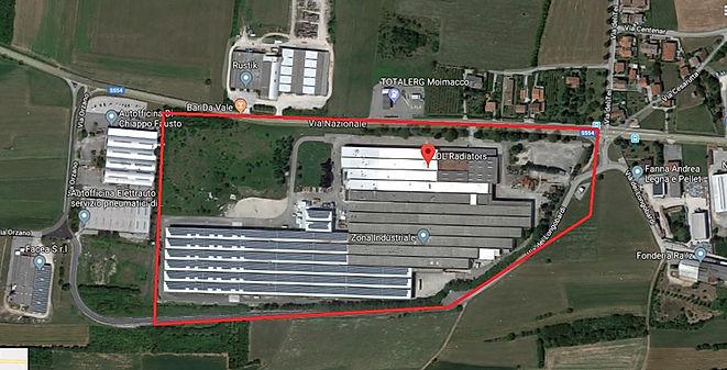 Manutenzione impianti stabilimento DL Radiators di Moimacco