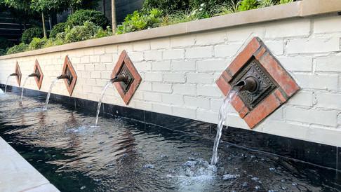 Dallas Water Spouts