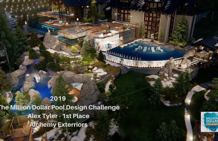 Alex Tyler Wins the 2019 Million Dollar Pool Design Challenge!