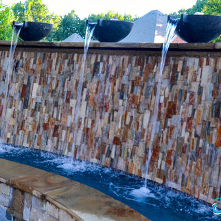 Colleyville Water Wall