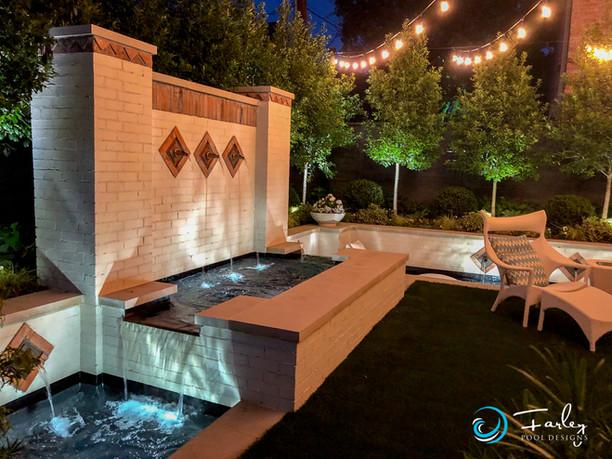 Small Yard Spectacular Fountain