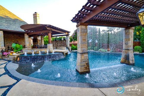 Colleyville Cascading Waters