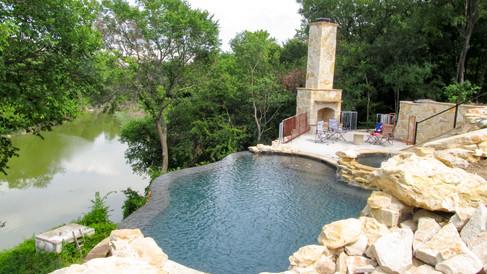Steep Hillside Infinity Pool