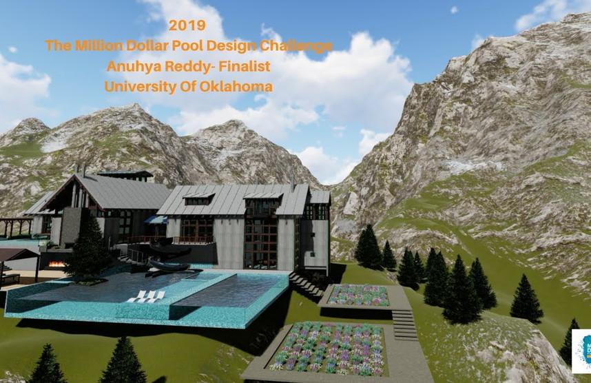 Anuhya Reddy pool video
