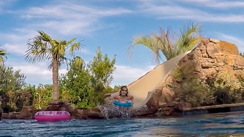 Lazy River with Dolphin Slide