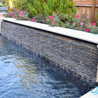 Slate Water Wall