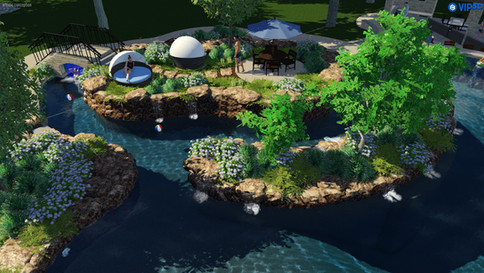 Enclosed Lazy River