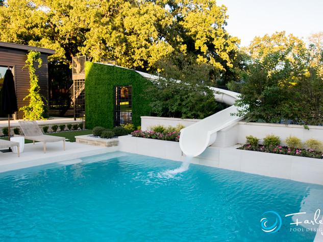 Southlake Pool & Slide fun!