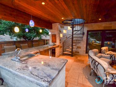 Outdoor Kitchen & Cabana