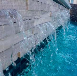 Water Wall - Southlake Modern