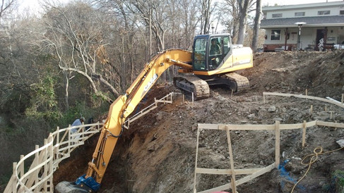 Digging the Hillside Pool