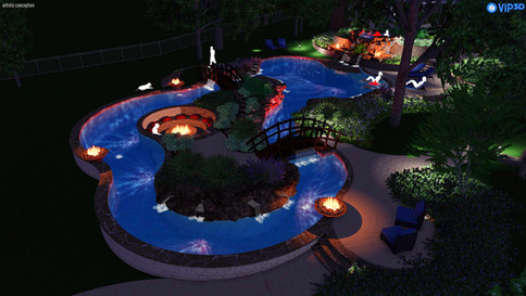 Hillside Lazy River