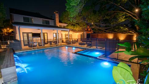 Dallas Modern Pool