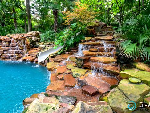 Natural Water Falls