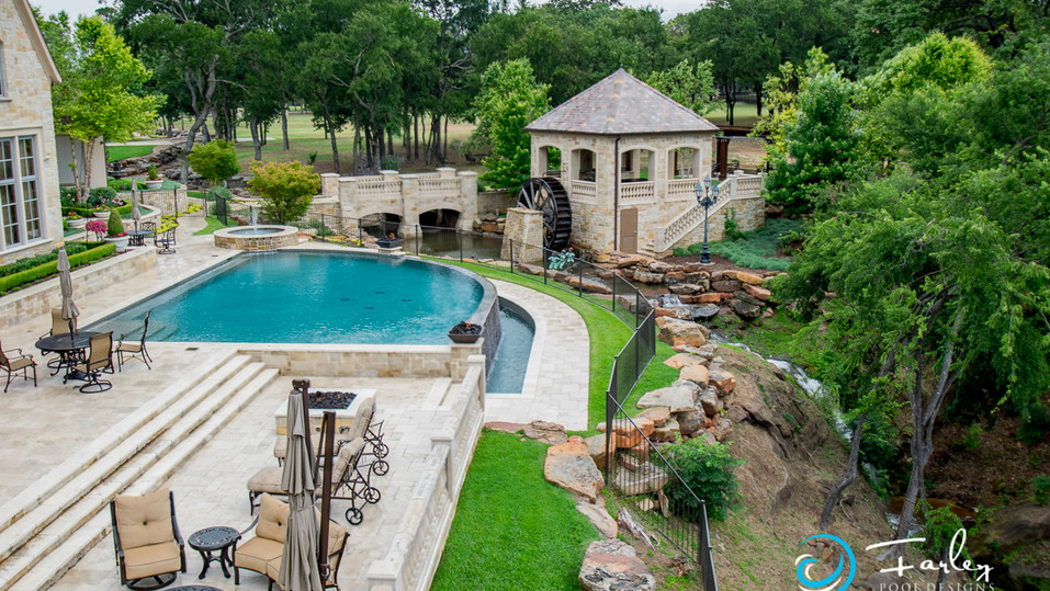 Flower Mound Infinity pool