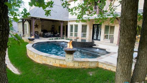 Cozy Trophy Club Pool