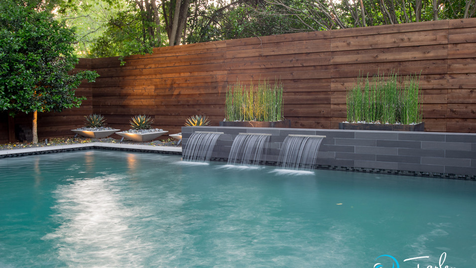 Modern Pool in Dallas