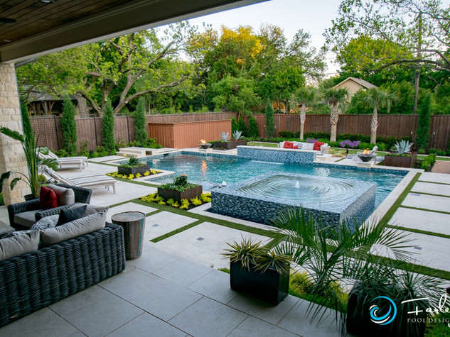 Dallas Modern Pool Project