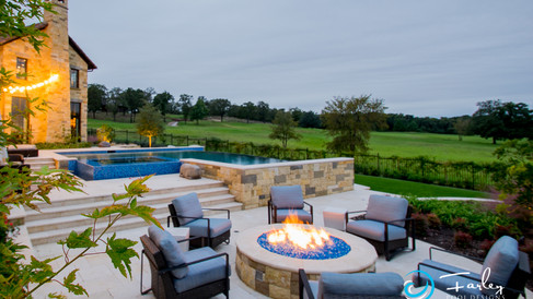 Fire Pit area by Pool