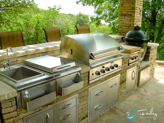 Outdoor Living Kitchen
