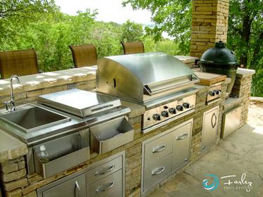 Outdoor Living Kitchen