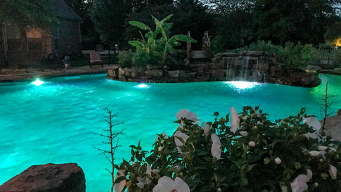 Lazy River Night time