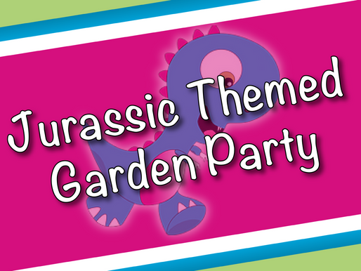 Jurassic Themed Garden Party | Children's Garden Parties 2021
