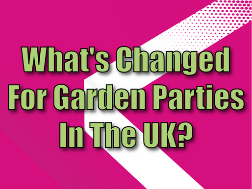 What's Changed For Garden Parties In The UK? | Garden Party Entertainment 2021