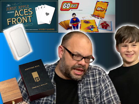 Siri X Pro, Go Out, Aces Front, The Anything Box by TCC | Craig & Ryland's Magic Review Show